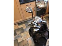 Ping G15 clubs with drivers and bag immaculate condition