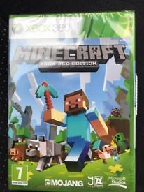 Minecraft xbox 360 edition brand new sealed