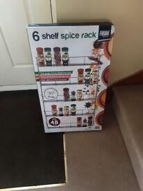 spice rack 6 shelf.
