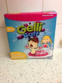 1 x packet princess pink Gelli Baff