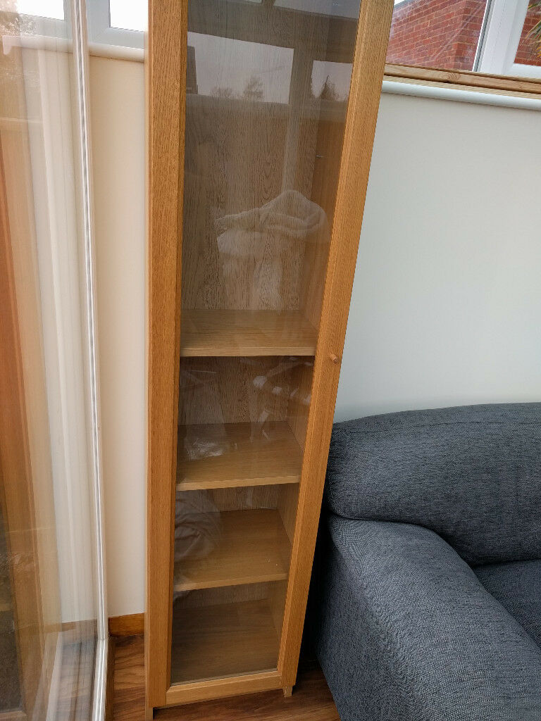 Ikea Oxberg Full Length Glass Door for Ikea Billy Cabinets | in  Bournemouth, Dorset | Gumtree