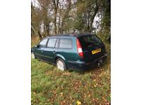 Ford Mondeo 2.0 TDCI 2001 5 Door Estate Green Tow Bar Spares Or Repairs