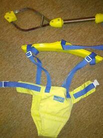 Lindam Jump About baby door bouncer hanger fun 3-15 months Paulton or Stapleton