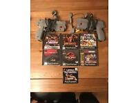 Ultimate PS1 PS2 shooting bundle! Time crisis, point blank, Jurassic park - PlayStation