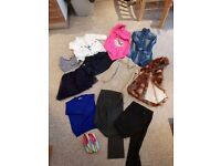 Clothes for girls 5-6 years, good as new..