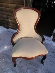 2 ANTIQUE VICTORIAN CHAIRS