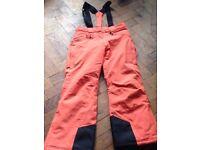 Unisex Ski pants with straps 152cm/year 12