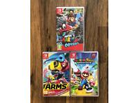 Nintendo Switch Games Swap or Sell