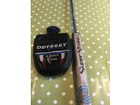 "ODYSSEY 35"" 2 Ball Fang putter with Super Stroke 3.0 Grip"