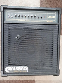 CARLSBORO GUITAR AMP FOR SALE, ALL NEW POTS, GOOD CONDITION, GREAT SOUND.