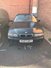 BMW model 530d Automatic Reg 2003