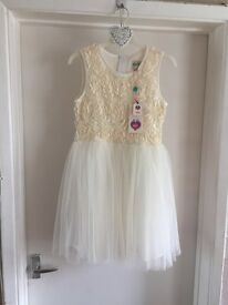 "BNWT ""YUMI"" Girls dress age 9-10, ideal for any celebration"
