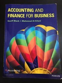 Accounting & Finance for Business