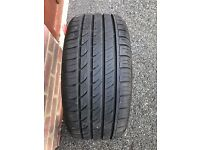 1 x Rapid P609 tyre 225/40zr18 92W 2XL Used/Good condition