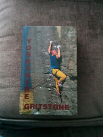 Yorkshire Gritstone -A Rock Climbing Guide - Hardcover
