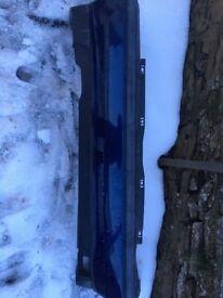 Vw golf gti mk3 rear bumper in blue