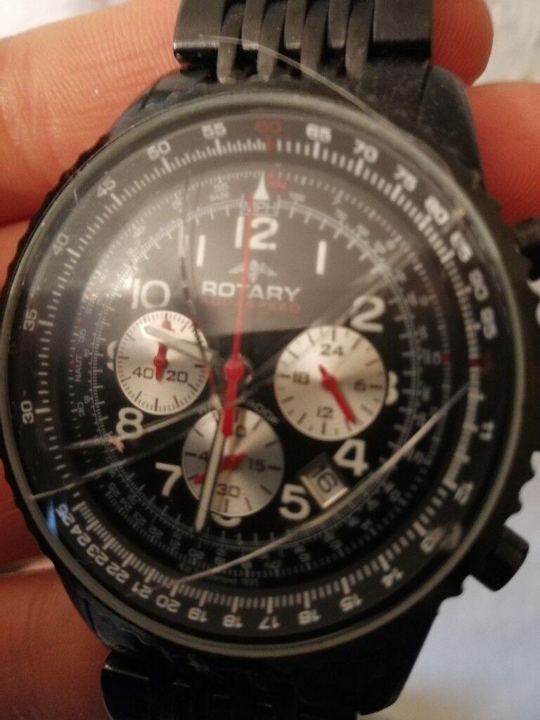 Rotary aquaspeed men's watch. Spares/repairs