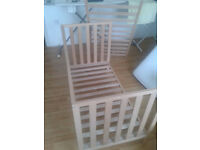 Mothercare Cot Bed & Mattress (baby bed; for collection only)