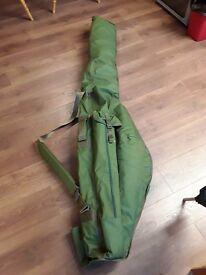 Brand New TRAKKER 5 rod and reel carryall holdall. 3 + 2 holdall. Brand new