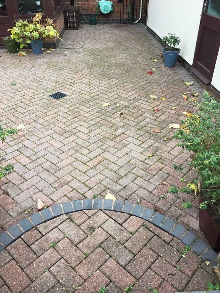 Heather And Grey Patio Blocks 36 Square Metres In Birstall