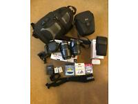 Canon 500D Camera + Lenses, Flash and Accessories