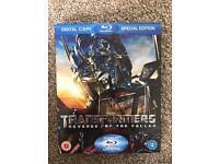 Transformers Revenge of the Fallen Blue Ray
