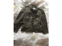 Immaculate Karen Millen Military Jacket - size 14
