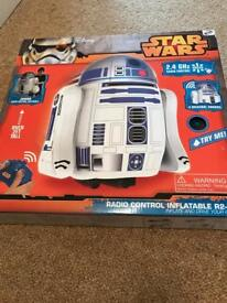 Star Wars radio control inflatable r2-d2