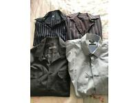 BURTON x 4 Work Shirts Size Medium
