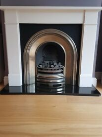 Gas fireplace - great condition
