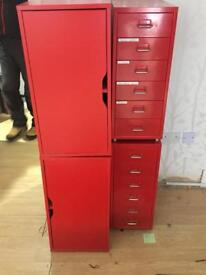 Red office bedroom furniture