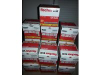 16 boxes of rawl plugs. 50 in a box. 6 tubes of mastick