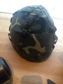 Childs army helmet