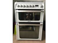 Free Standing Hotpoint Gas Cooker