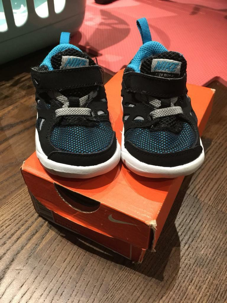 Nike infant trainers, size 3.5
