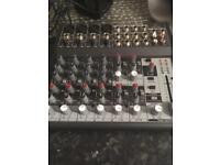 Behringer power dj mixer
