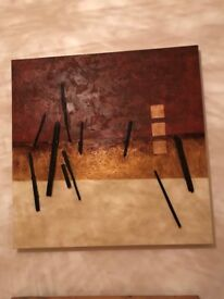 Abstract Canvas Picture 100cm x 100cm