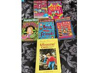 Six books for sale