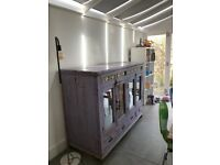 Unusual purple dresser shabby chic