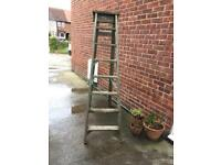 Tall Wooden Step Ladders/ Wedding Accessorie