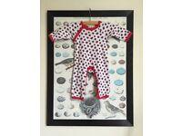 Pigeon Organics Babygrow, sleepsuit 0-5 months