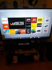 50 inch Toshiba smart tv with original remote control