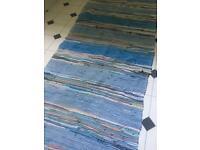 Big colourful rug