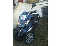 Piaggio MPg 125 2009 Business Scooter £1800