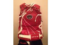 Osprey Kamber ski/snowboard lift friendly pack with all features .