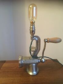 Up cycled meat mincer