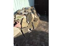 FREE hard fill / broken paving slabs