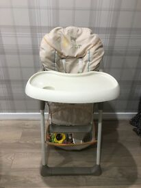 Hauck High Chair and Bouncer
