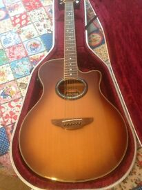 Yamaha apx 700 electro acoustic guitar
