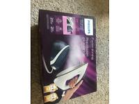 Philips steam iron sealed in box with full warranty